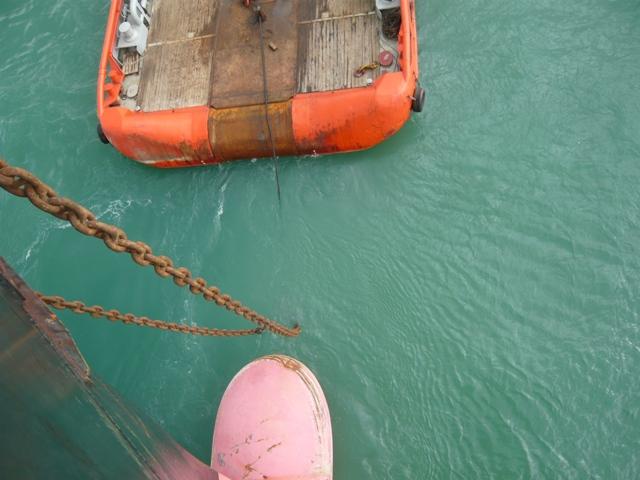 ARABIAN SEA FOS towing MSC AUSTRIA