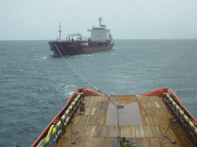 CORAL SEA FOS towing MV MARIDA MAGNOLIA