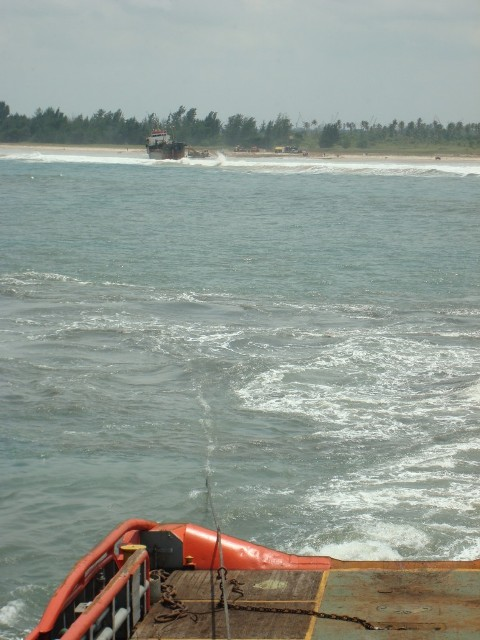 Refloating operations in West Africa