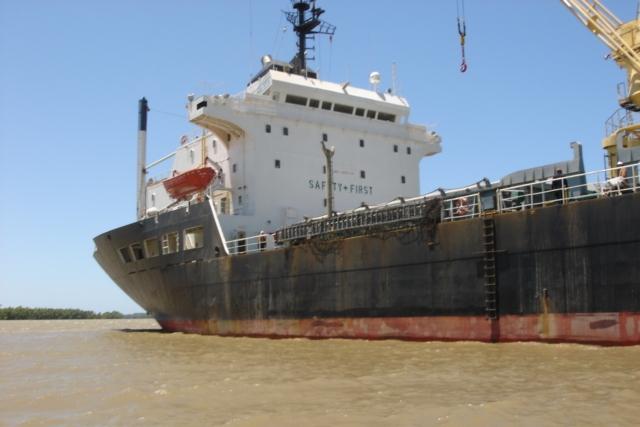 Five Oceans Salvage - MV AGIA SOFIA aground