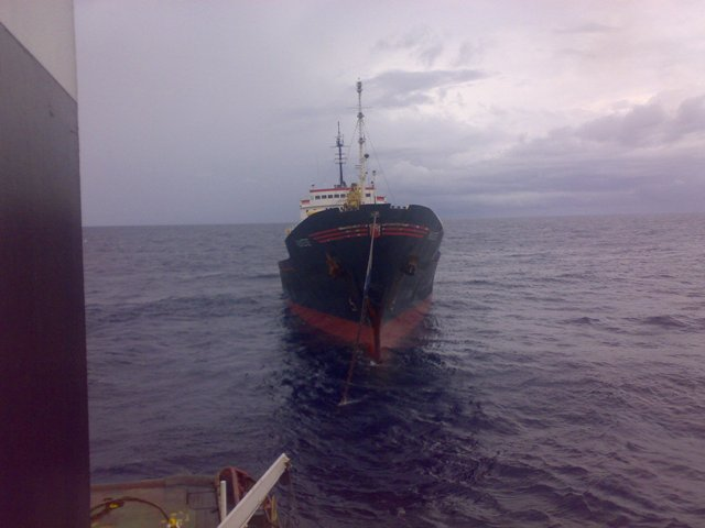 Five Oceans Salvage - Assisting MV ALKISTIS