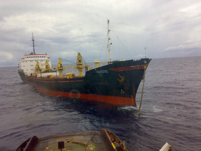 Five Oceans Salvage - Assisting MV ALKISTIS