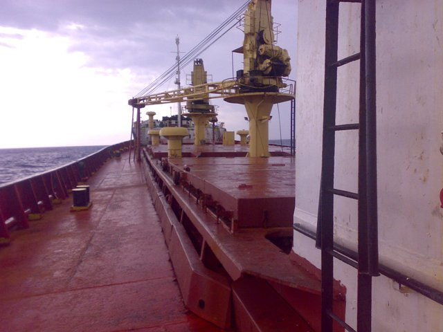 Five Oceans Salvage - Salvage team onboard MV ALKISTIS