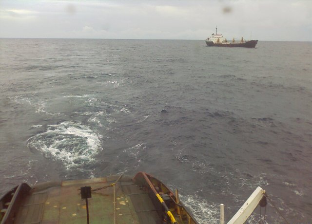 Five Oceans Salvage - Salvage operation MV ALKISTIS