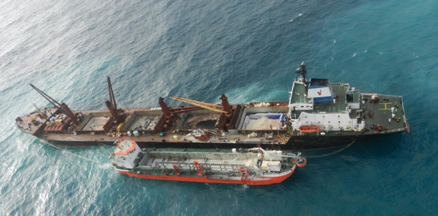 Five Oceans Salvage Salvage Operation MV ANGEL Five Oceans - Five oceans