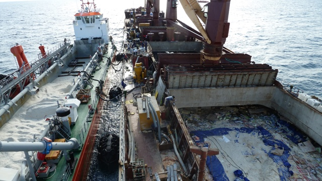 Five Oceans Salvage - Salvage operation MV ANGEL 1