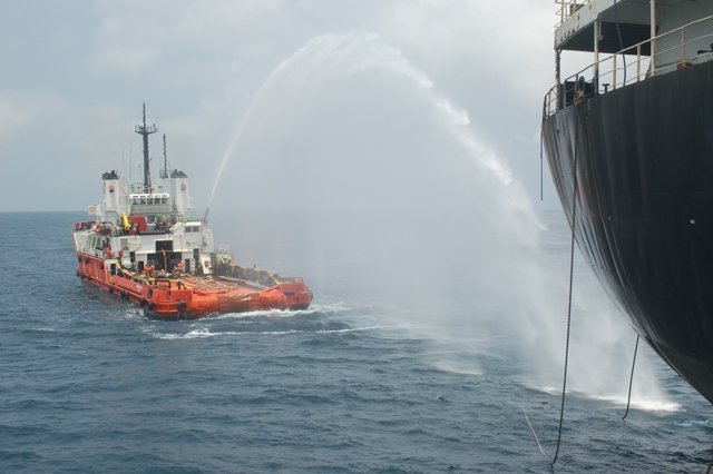 Five Oceans Salvage - CARIBBEAN FOS firefighting