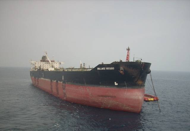 Five Oceans Salvage - MV BRILLANTE VIRTUOSO salvage operation