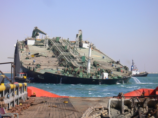 Five Oceans Salvage - MV ELLI salvage operation