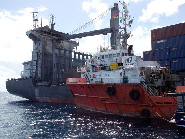 Five Oceans Salvage - MV HANSA BRANDENBURG salvage operation