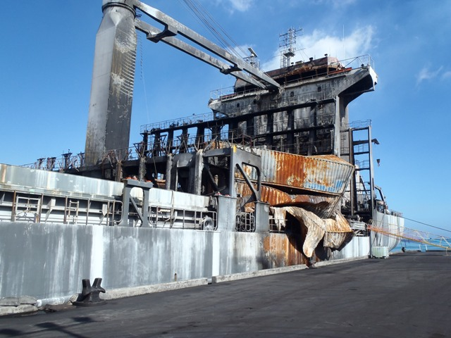 Five Oceans Salvage - Alongside berth in Port Louis, Mauritius