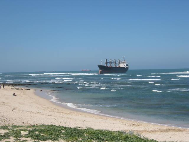 Five Oceans Salvage - MV INSPIRATION I aground
