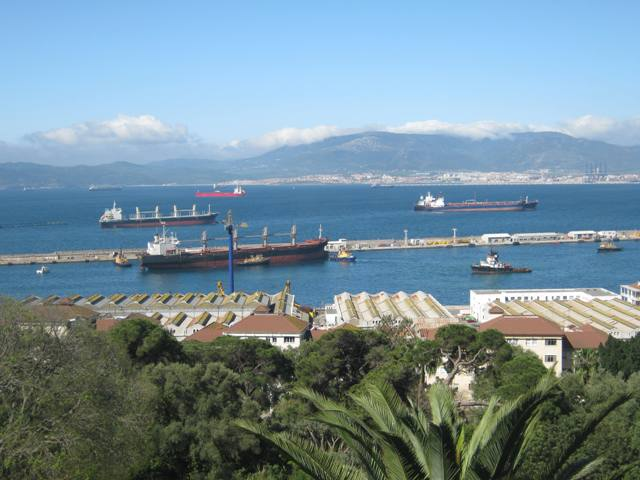 Five Oceans Salvage - MV INSPIRATION I redelivery in Gibraltar