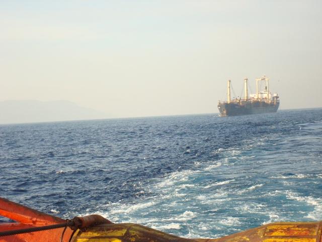 Five Oceans Salvage - CARIBBEAN FOS assisting MEDEA K