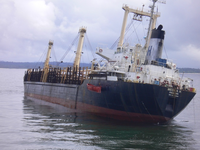 Five Oceans Salvage - MV MEDEA K salvage operation