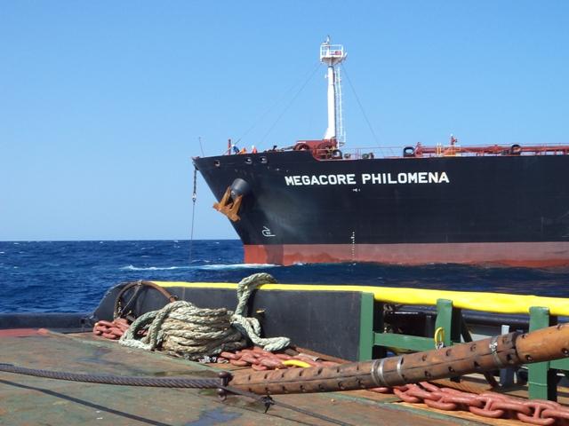 Five Oceans Salvage - MV MEGACORE PHILOMENA salvage operation