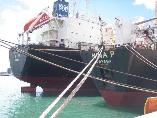 Five Oceans Salvage - MV NINA P salvage operation