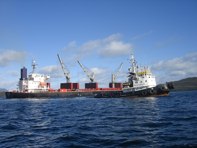 Five Oceans Salvage - Salvage operation MV OCEAN CROWN