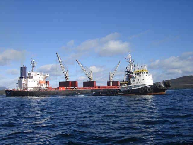Five Oceans Salvage - Salvage operation MV OCEAN CROWN