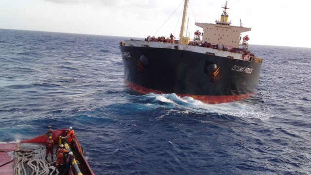 Five Oceans Salvage - MV OCEAN PRINCE salvage operation