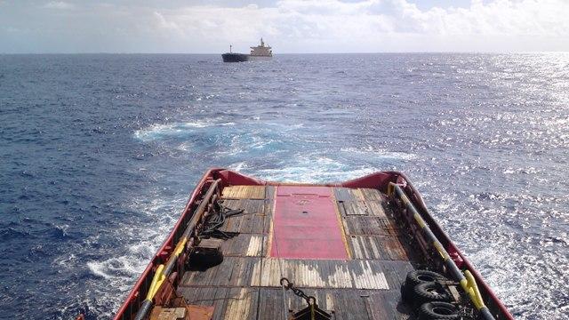 Five Oceans Salvage - MV OCEAN PRINCE salvage operation