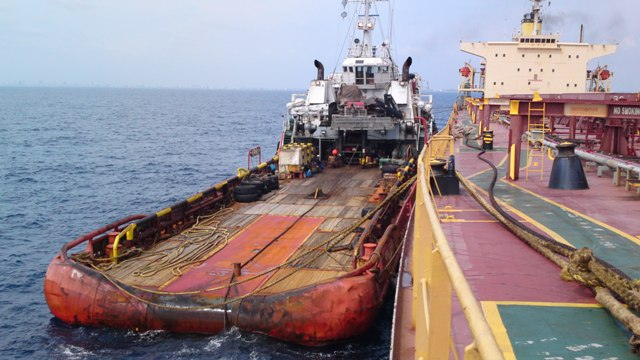 Five Oceans Salvage MV OCEAN PRINCE Salvage Operation Five - Five oceans