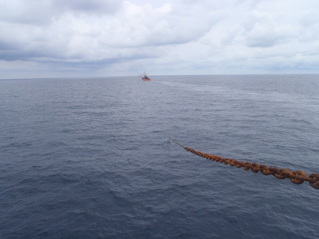 Five Oceans Salvage - MV OMEGAS salvage operation
