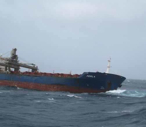 Five Oceans Salvage - MV PERLA salvage operation