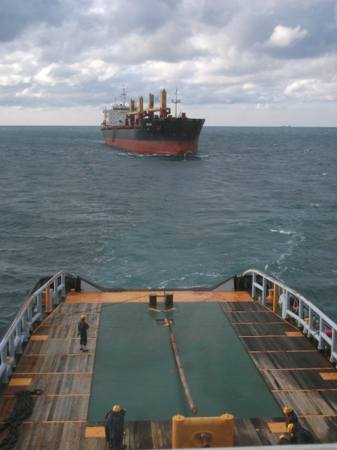 Five Oceans Salvage - MV ROOK salvage operation