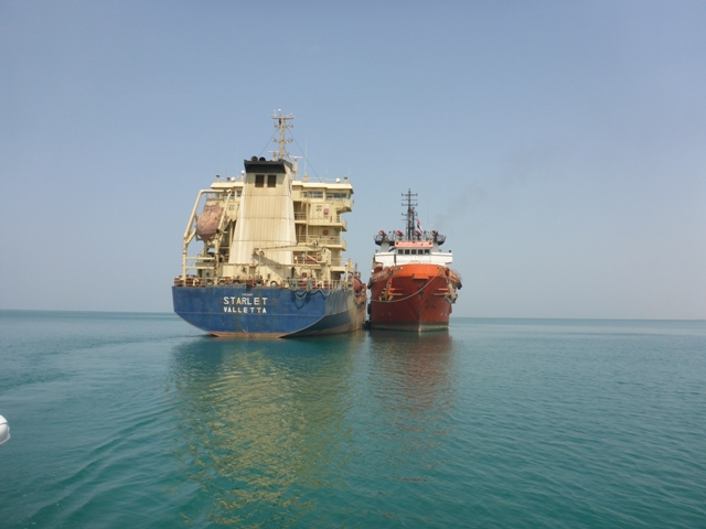 Five Oceans Salvage - IONIAN SEA FOS in Yemen