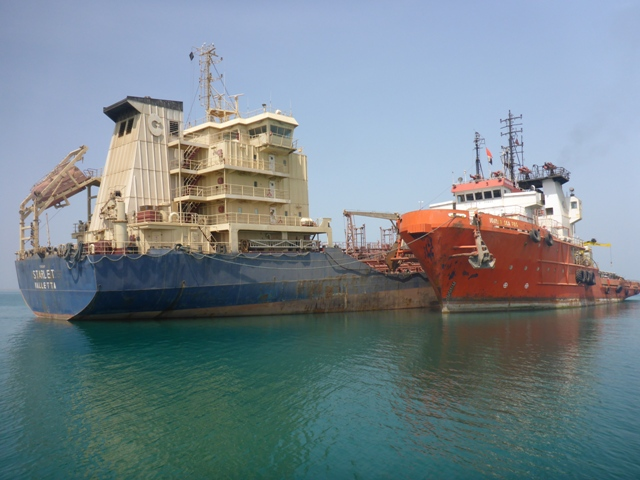Five Oceans Salvage - MV STARLET salvage operation