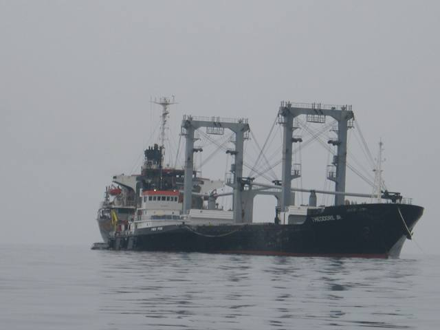 Five Oceans Salvage - Salvage operation MV THEODORE JR