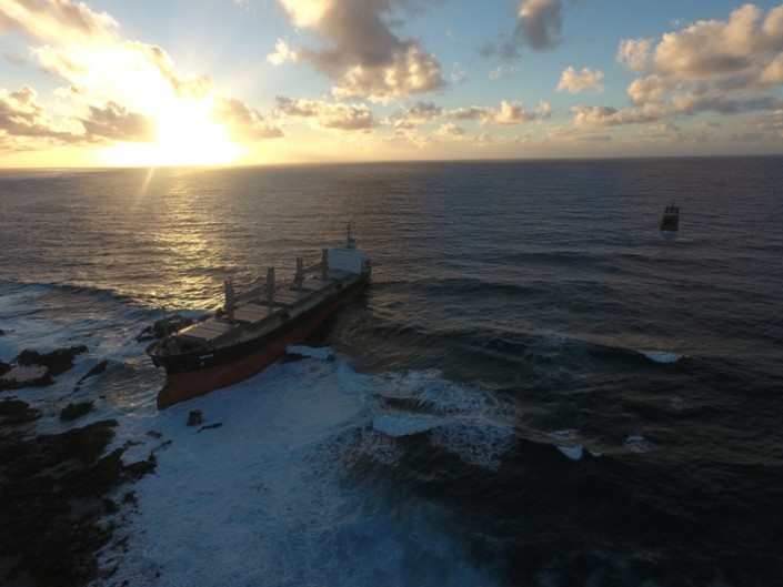Five Oceans Salvage - MV BENITA connected to IONIAN SEA FOS