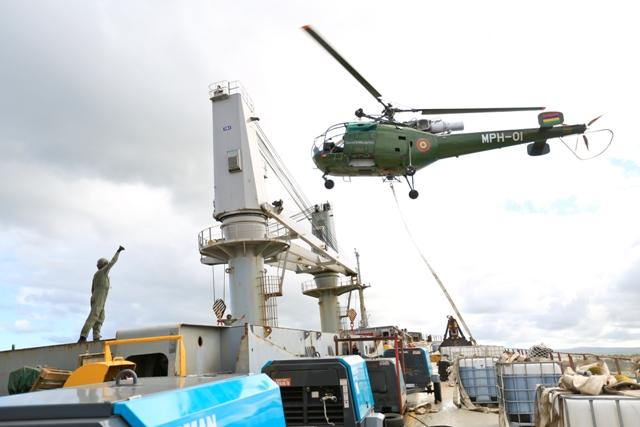 Five Oceans Salvage - MV BENITA Bunker removal operations