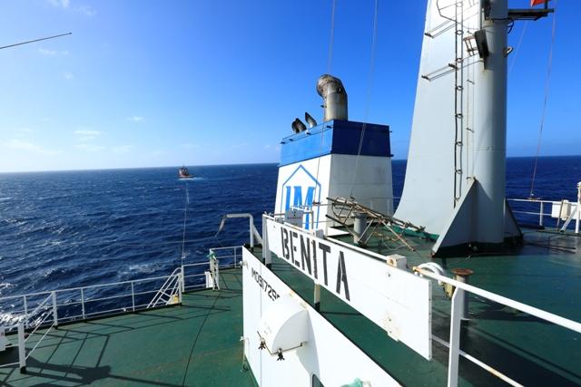 Five Oceans Salvage - MV BENITA aground off Le Bouchon, Mauritius