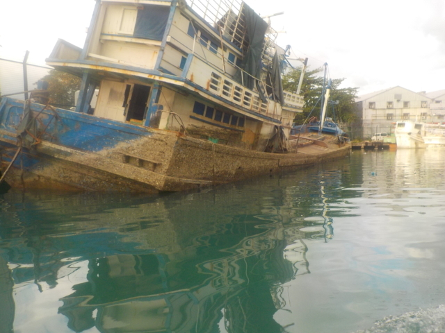 Five Oceans Salvage - Removal of wrecks in Port Louis port